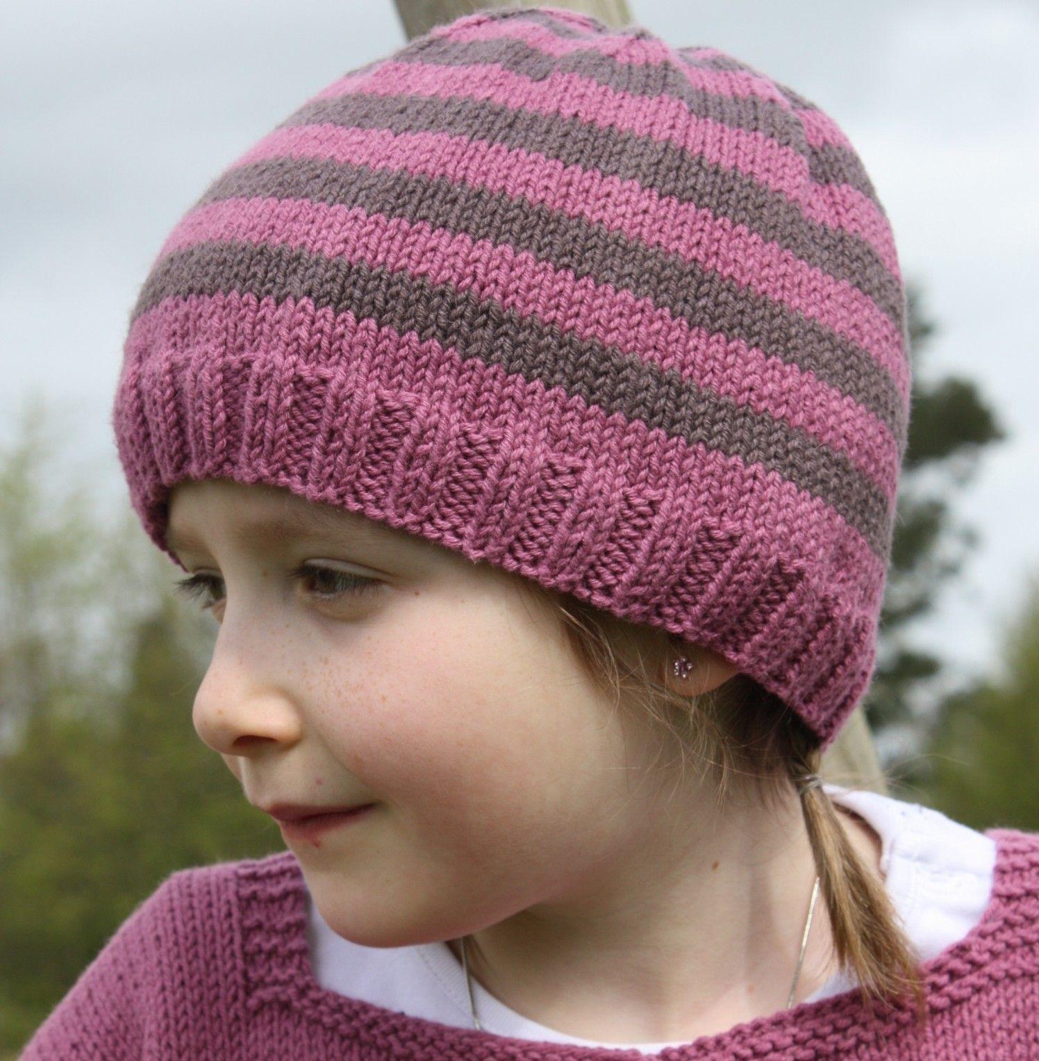 tricoter un bonnet fille 4 ans
