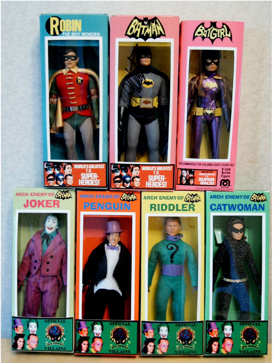 DC Comics Retro Style 8 Inch Figures Batman Retro Series 5 Catwoman