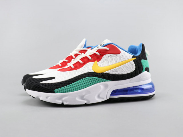 red blue yellow nikes