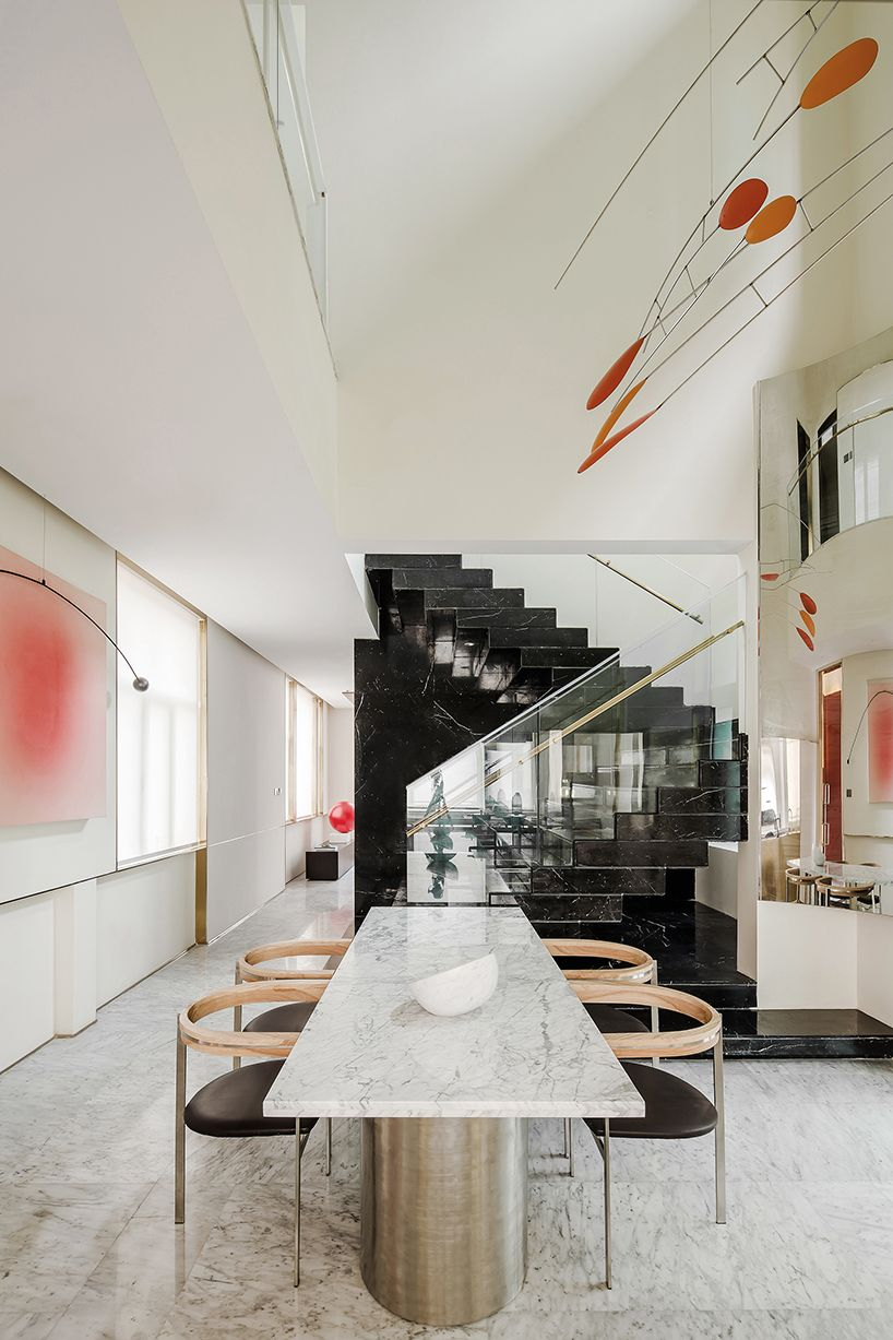 Co Direction Design Uses Marble And Bronze To Create