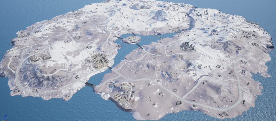 Playerunknown S Battlegrounds Pubg The Popular Battle Royale Game Will Soon Get The Vikendi Snow Map A Youtube C Snow Map App Development Battle Royale Game
