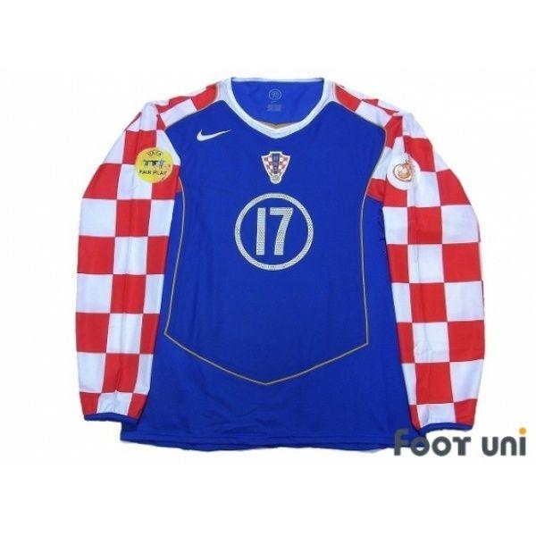Photo1 Croatia Euro 2004 Away Authentic L/S Shirt 17