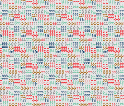 tulip garden fabric by sonny