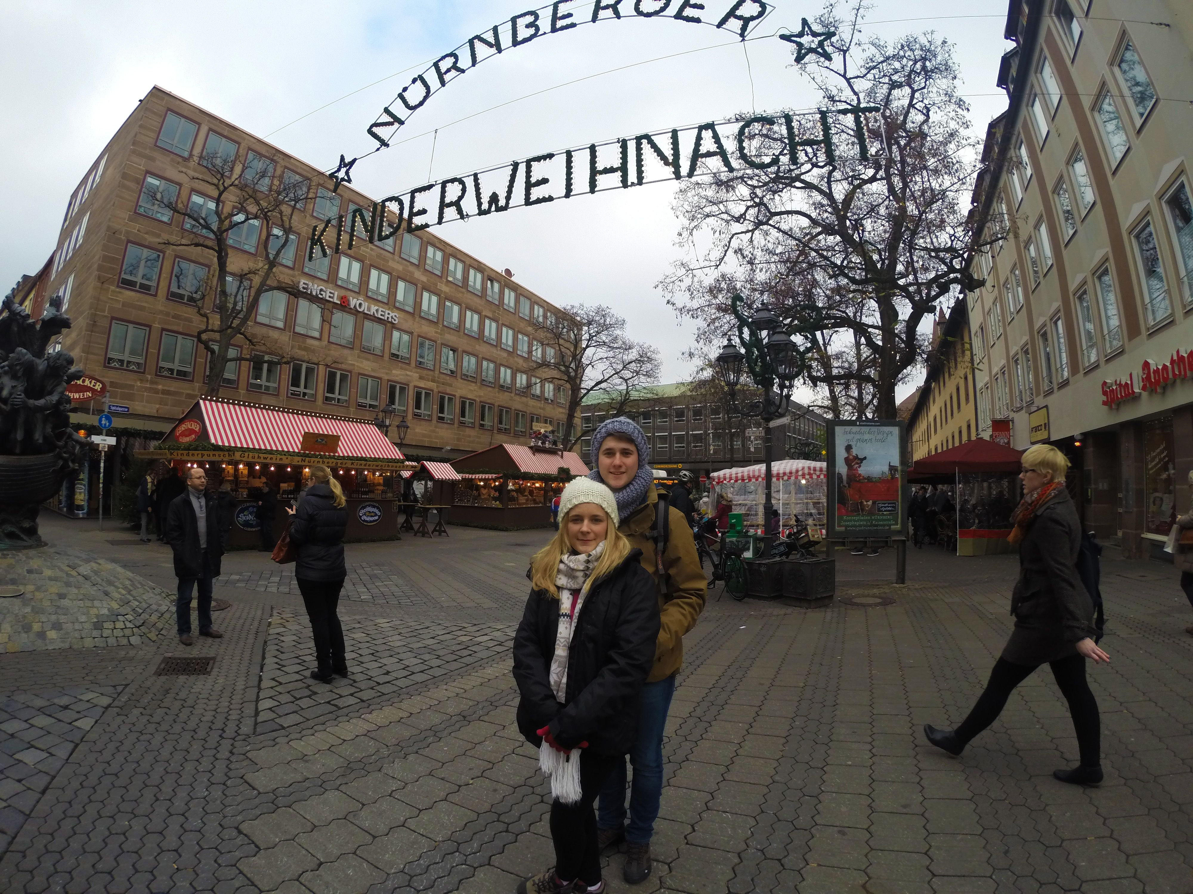 Mercado infantil navideño Núremberg