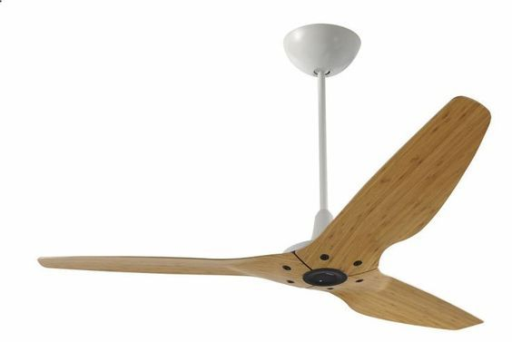 Ein Ventilator mit Karamell-Bambus Flügeln: