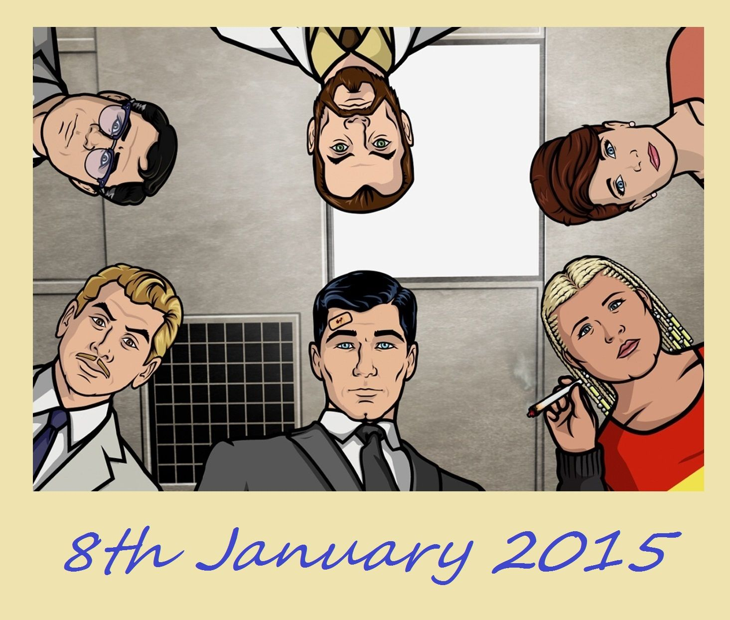 Archer - Season 6 Start Date:  8th Jan 2015.
