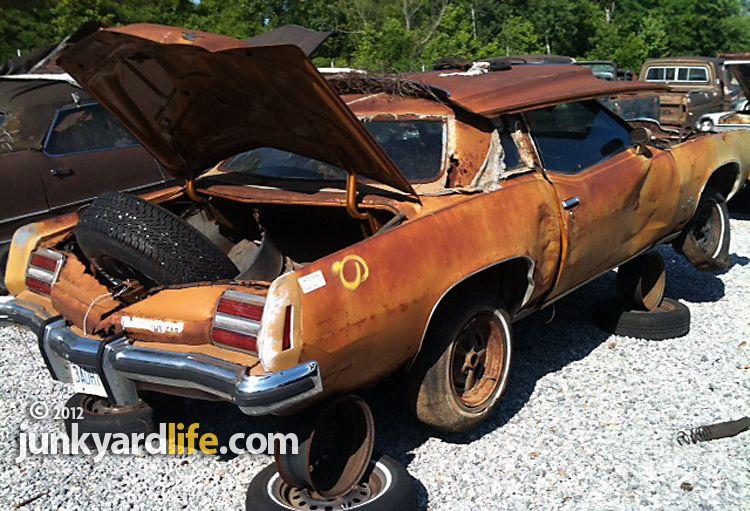 Junkyard find 1973 Pontiac Grand Prix SJ 455, 1974 Model