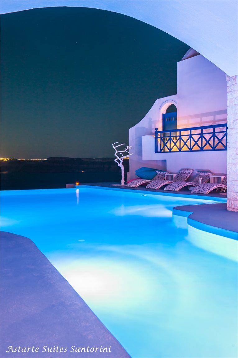 Astarte Suites hotel - Santorini Greece #pools #swimmingpool #greece #santorini