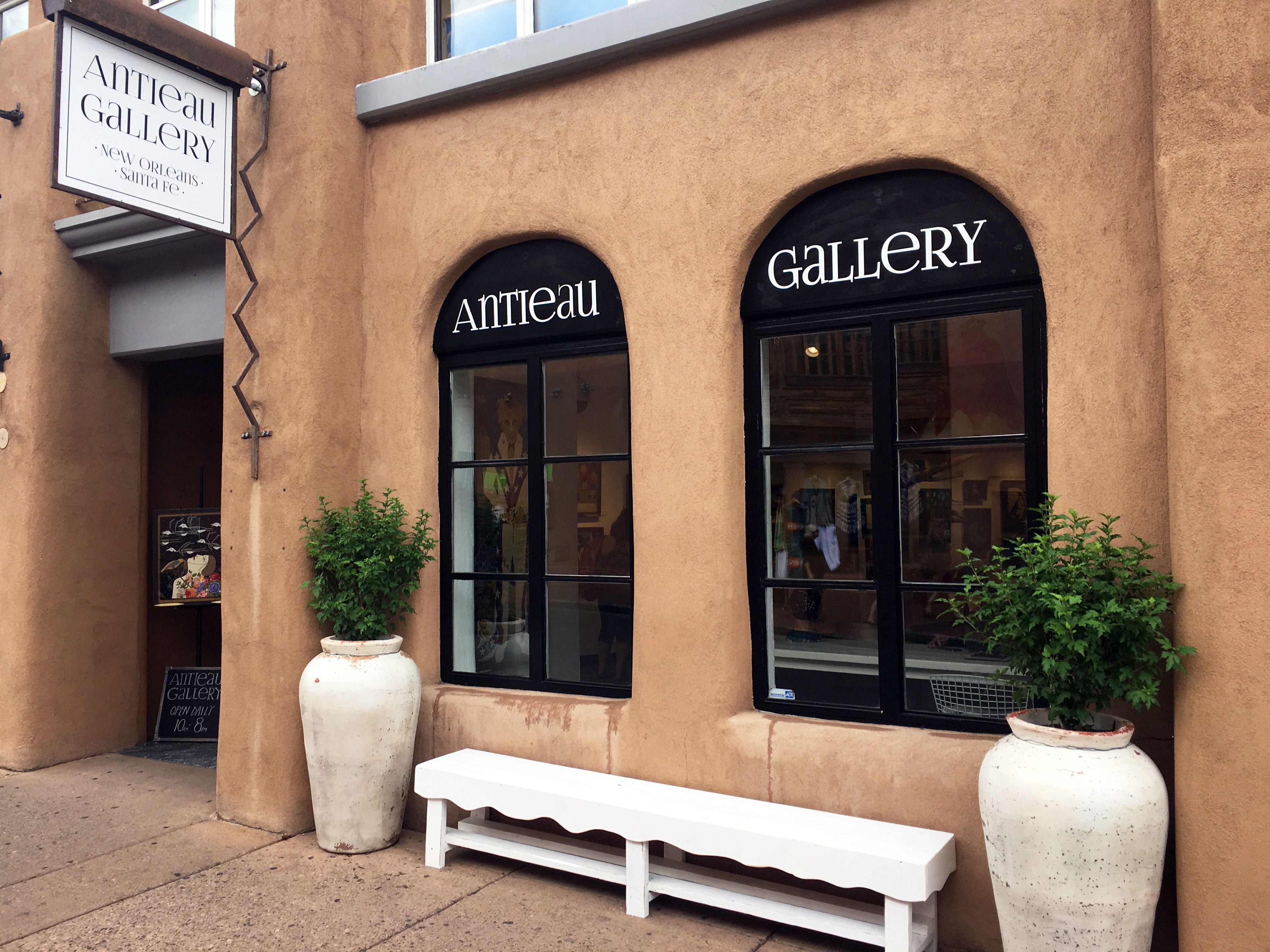 Antieau gallery santa fe 134 w water street with images