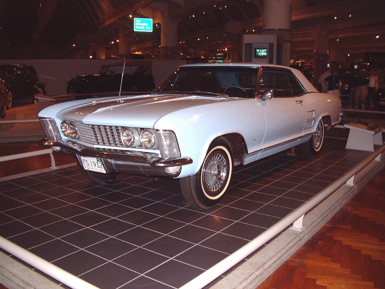 Cars Buick Riviera Light Blue Fvl H Ford Museum F Oldtimers - Buick ford
