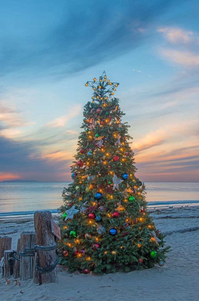 California Christmas.The Historic Crystal Cove Beach Cottages In Southern