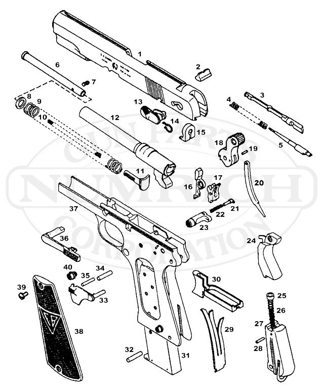 Radom 1935 P-35 Schematic Image | Radom p35 9mm pistol | Guns ... on handgun concepts, handgun diagrams, handgun power, handgun components, handgun prototypes, handgun information, handgun parts, handgun dimensions, handgun accessories, handgun drawings, handgun illustrations, handgun blueprints, handgun safety,