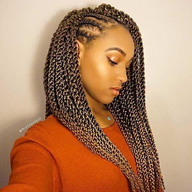 31 Stunning Crochet Twist Hairstyles - 31 Stunning Crochet Twist Hairstyles Crochet Senegalese Twist