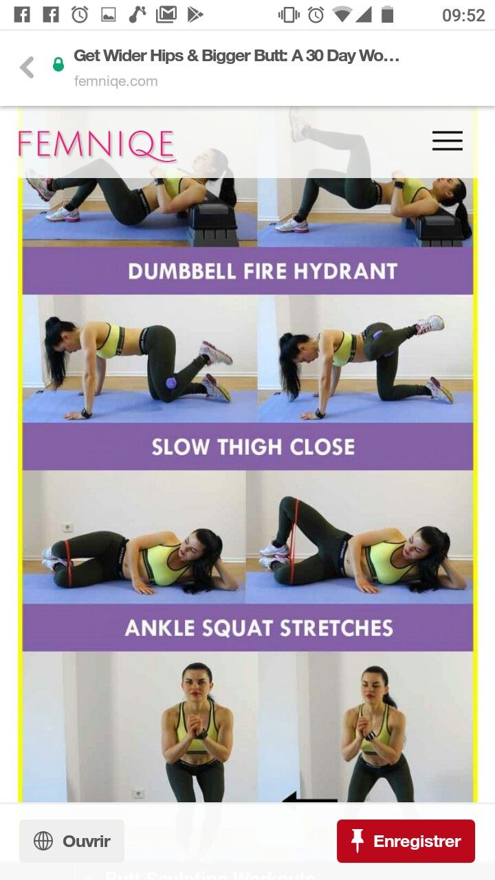 Wider Hips 30 Days Workout Plan  I Work Out  Hip Workout -1338