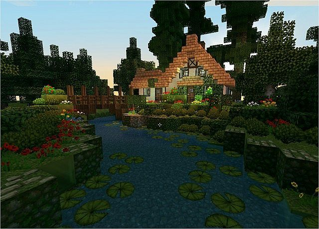 Stream Cottage Minecraft Map