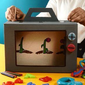 Photo of Cómo hacer una televisión con una caja de cartón