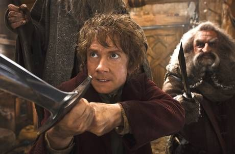 Martin Freeman stars as Bilbo Baggins, 'the one character who is given some depth'