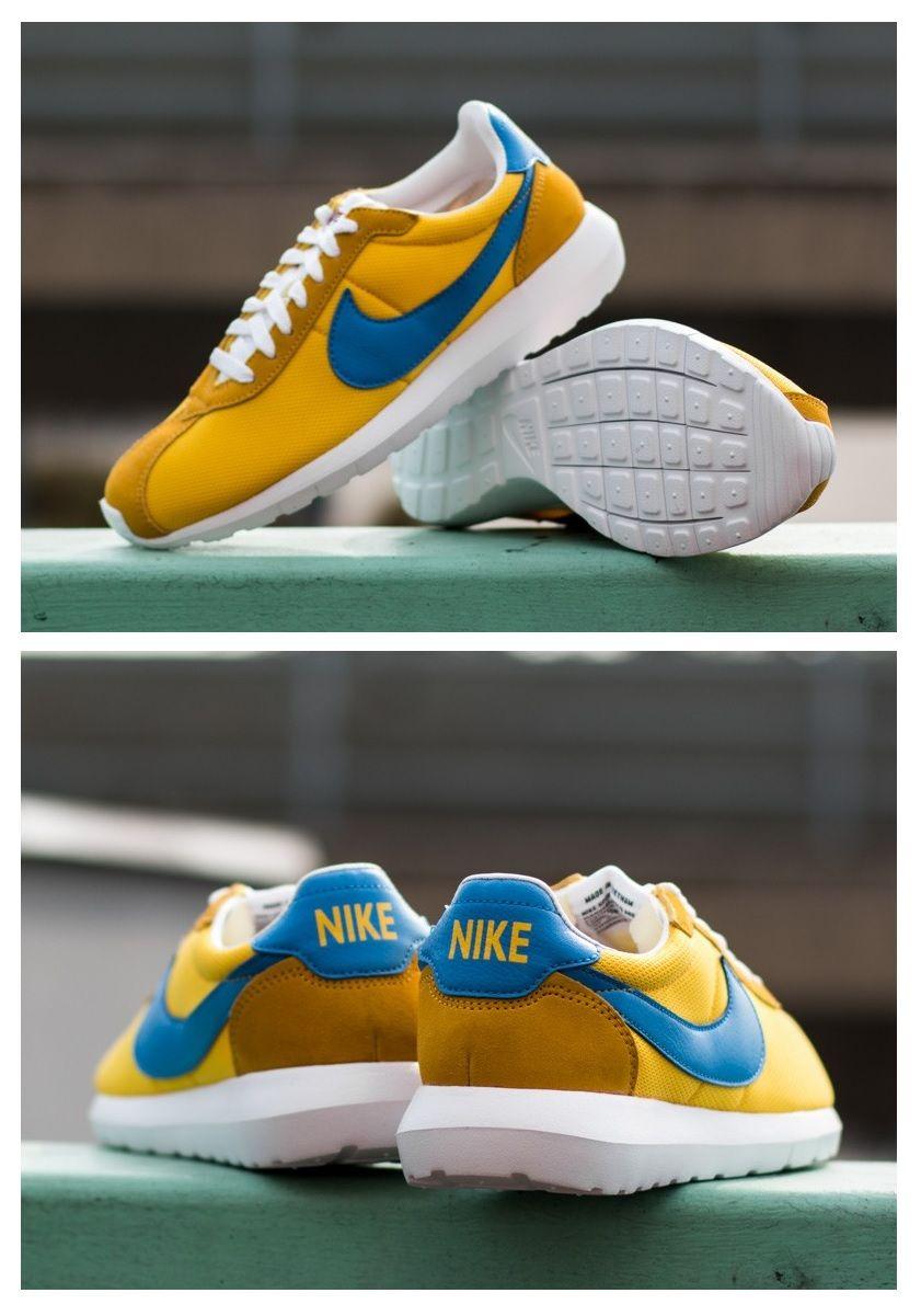timeless design 2243d c502b Nike Roshe LD-1000  Yellow Blue