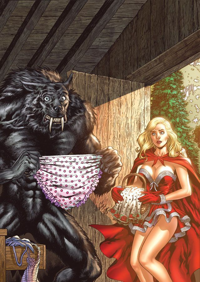 Red riding hood erotic comic