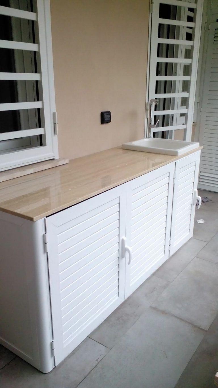 Mobili Bassi Cucina Ikea mobili da cucina alluminio
