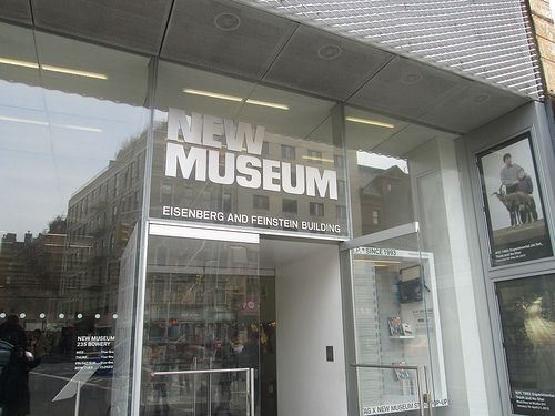 New Museum, Bowery. NYC. Nueva York by voces, via Flickr