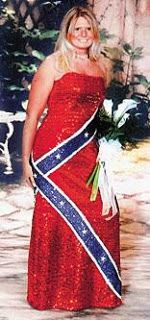 Exceptional Nothing Screams Redneck Quite Like A Rebel Flag Prom Dress.