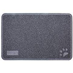 Cat Litter Mat - Patented Design with Litter Lock Mesh - Repels Liquids and Odors - Easy to Clean - Soft and Safe Phthalate Free - Fits Under Litter Box ...  sc 1 st  Pinterest & Cat Litter Mat - Patented Design with Litter Lock Mesh - Repels ... Aboutintivar.Com