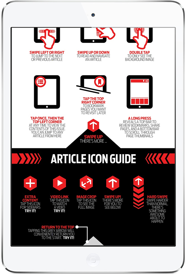 10 Examples Of Navigation Pages Part 3 Digital Publishing E Magazine Tablet