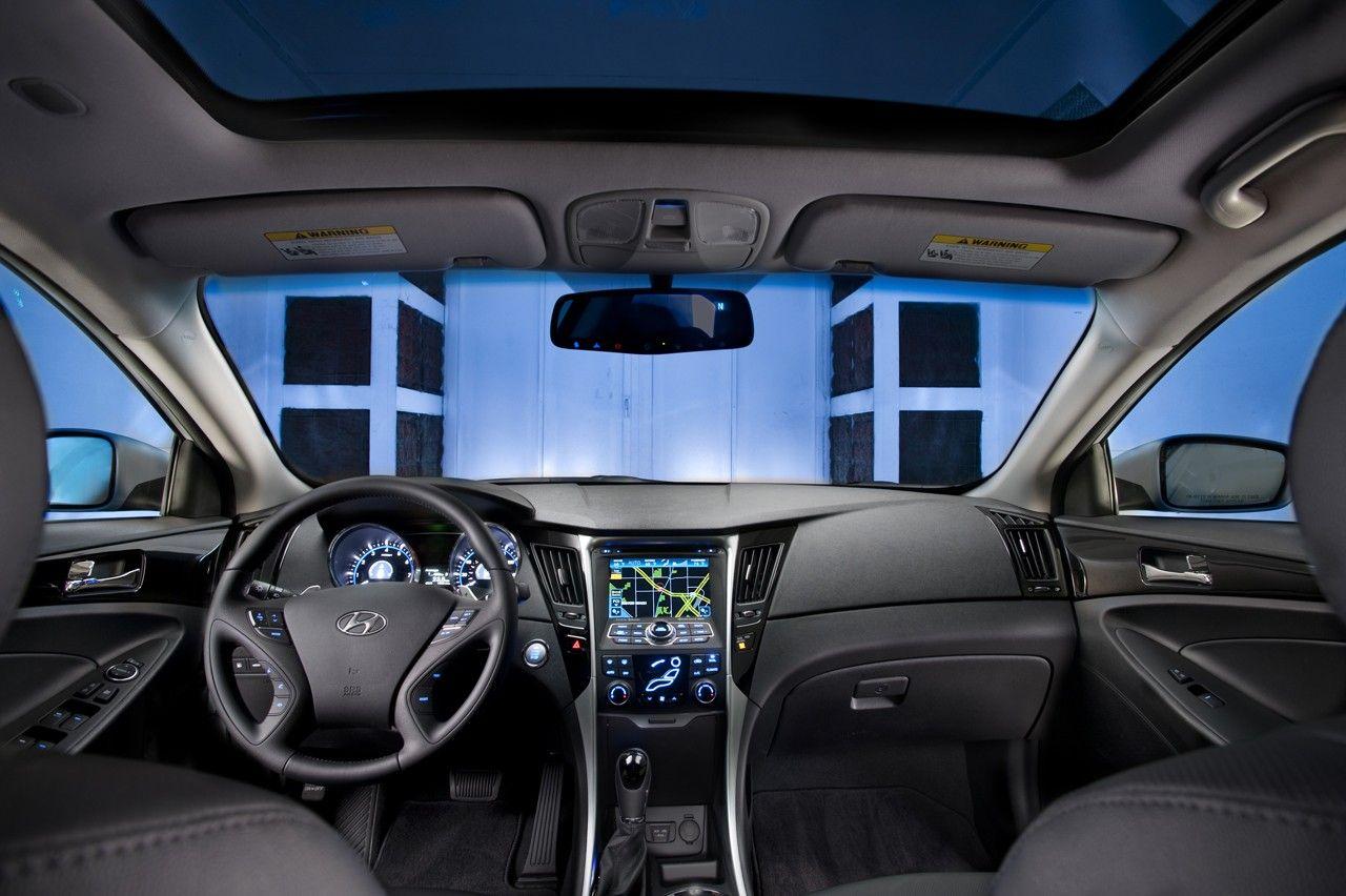 2017 Hyundai Sonata Interior With Panoramic Sunroof