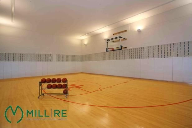 Property Indoor Basketball Court Luxury Apartments Long Island City