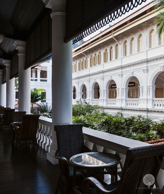 Fashion Design Interior Design Singapore: Raffles Hotel Singapore