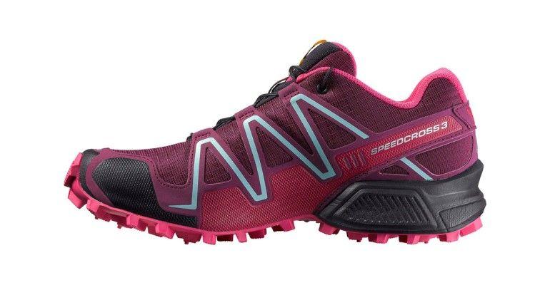 2cd26f49616e Women s Salomon Speedcross 3 Trail Running Shoes - Color  Bordeaux Hot Pink Lotus  Pink (Regular Width) - Size  6.5