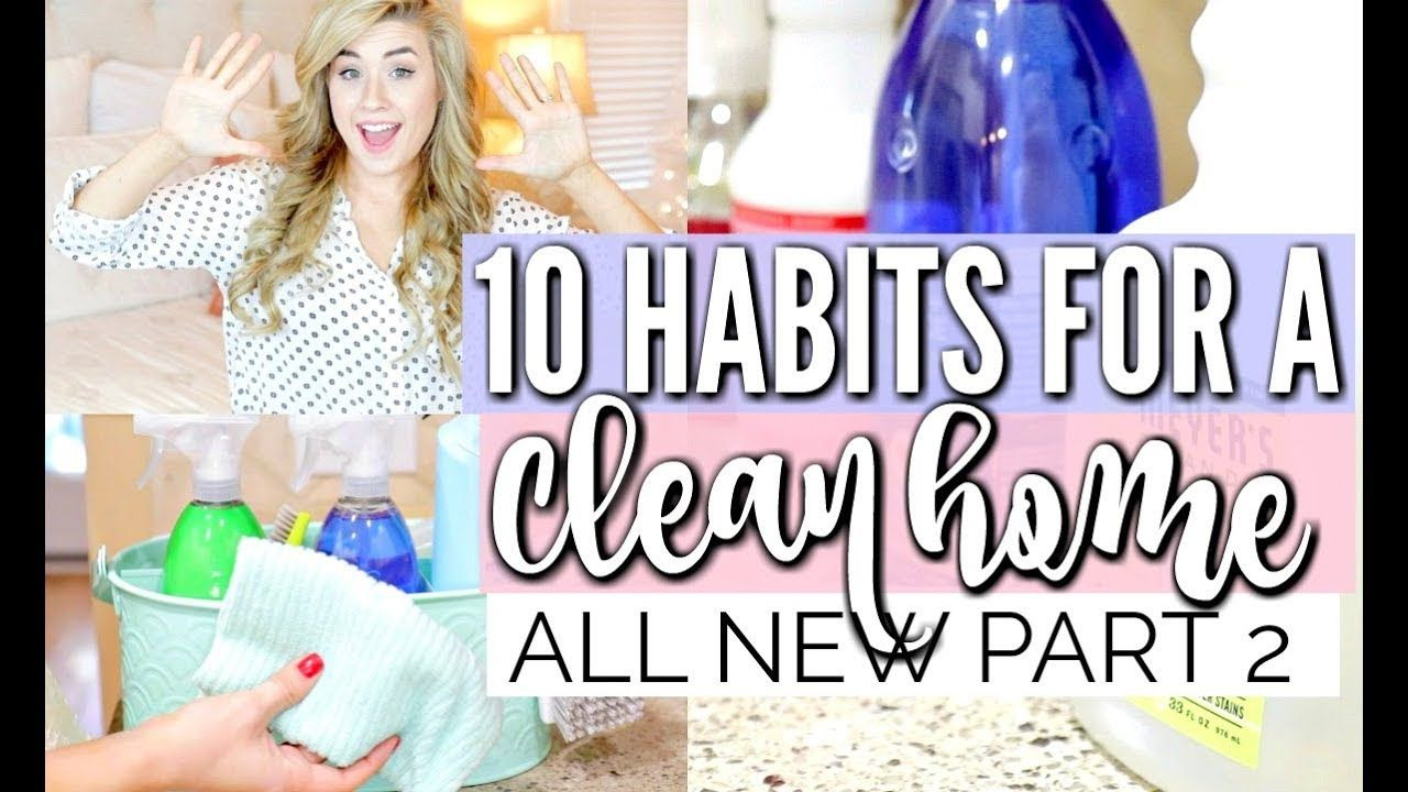 Love Meg 10 HABITS FOR A CLEAN HOME