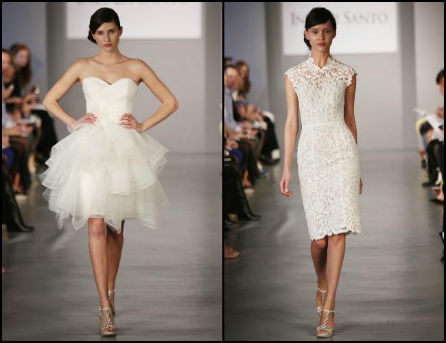 Short Wedding Dress 2014