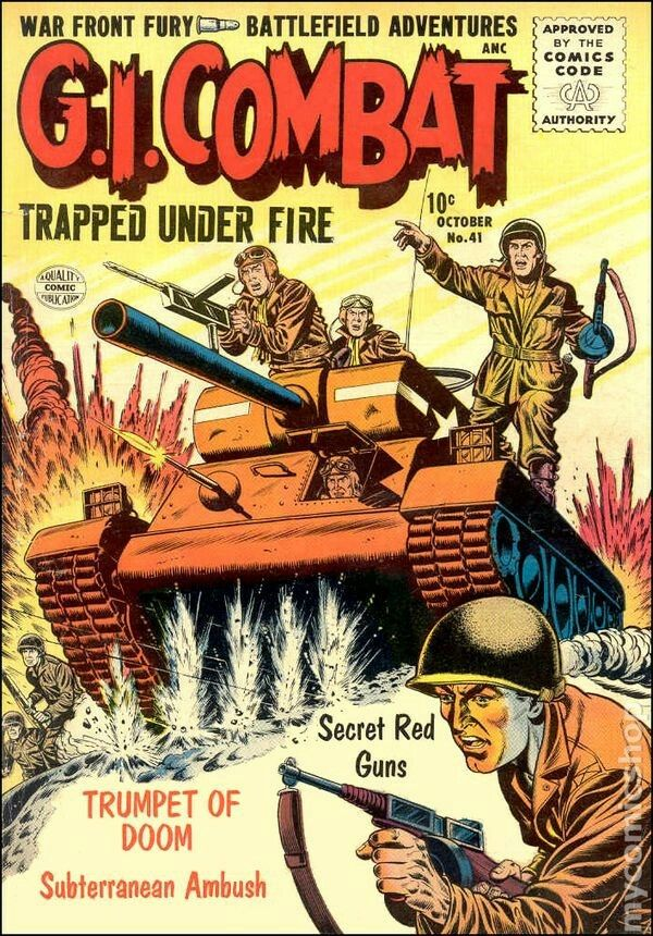 Pin By Hans Eberhardt On D Day Allied Invasion Of Europe And Russia Vintage Comics War Comics Vintage Comic Books