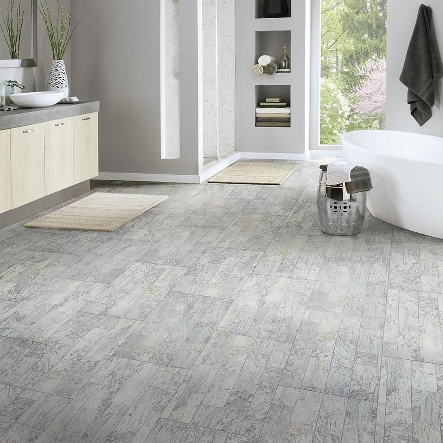Armstrong Flooring Terraza 12x24 12 In X 24 In Sand Dollar Peel And Stick Vinyl Tile Lowes Com Vinyl Tile Peel And Stick Vinyl Armstrong Flooring