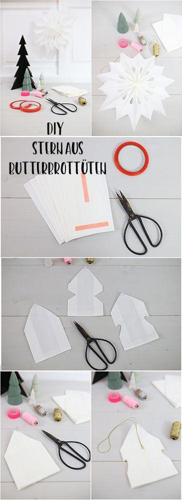 sterne aus butterbrott ten kinderleichtes diy zur weihnachtszeit weihnachtszauberei. Black Bedroom Furniture Sets. Home Design Ideas