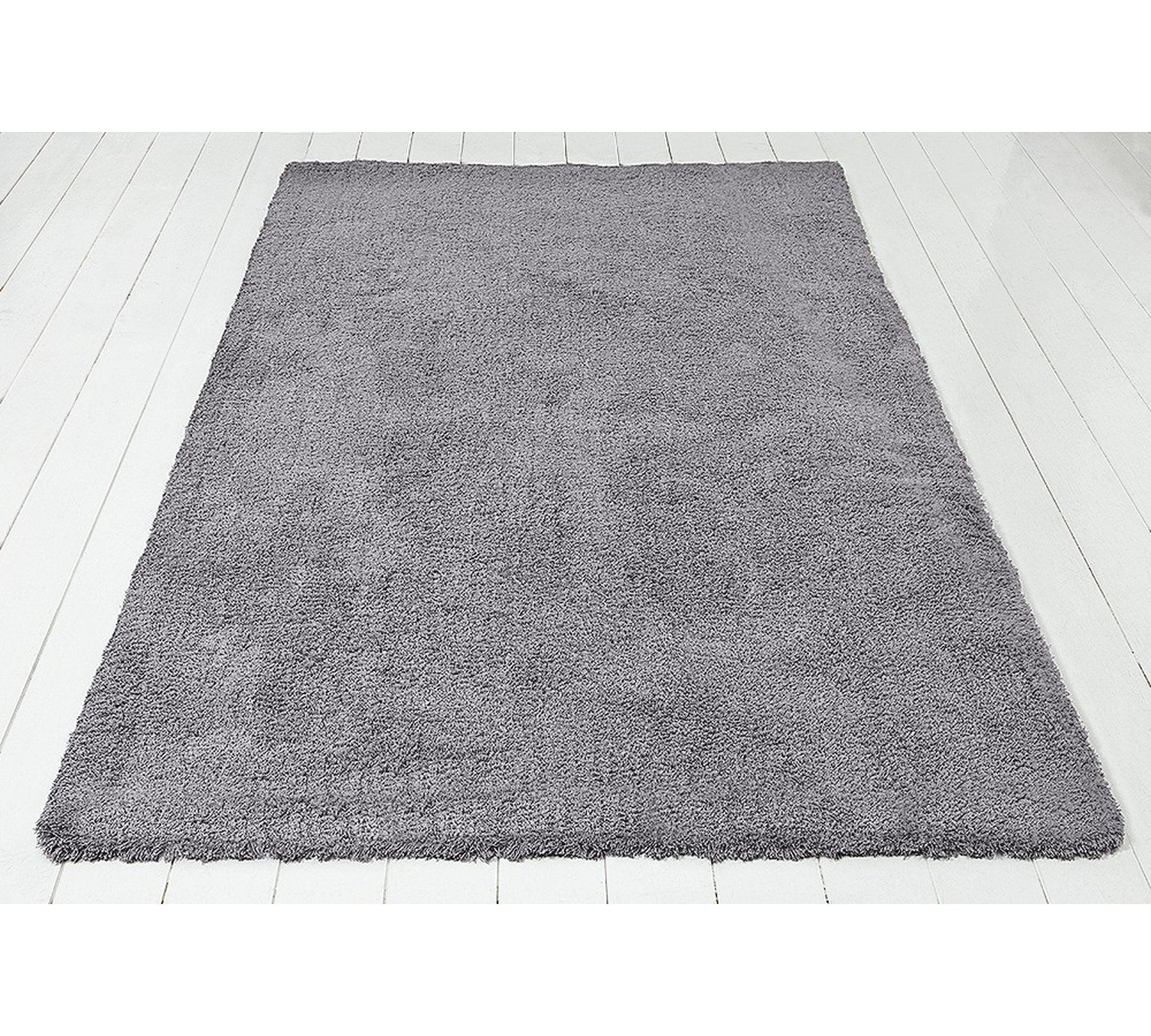 Buy Colourmatch Snuggle Shaggy Rug 110x170cm Flint Grey At Argos Co Uk Visit Argos Co Uk To Shop Online For Rugs And Ma Rugs And Mats Shaggy Rug Grey Rugs