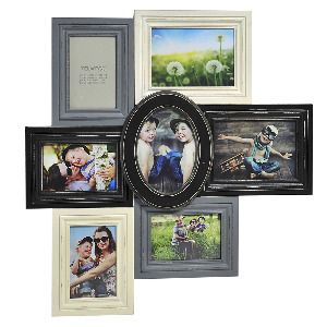 ea6aac7097d5 Melannco 23 7-Picture Distressed Collage in Black