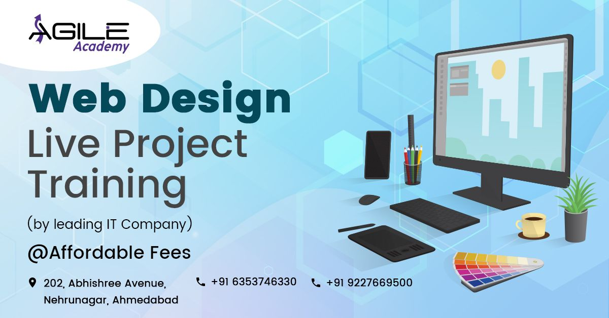 Best Web Designing Course In Ahmedabad Web Design Training Web Design Course Web Design