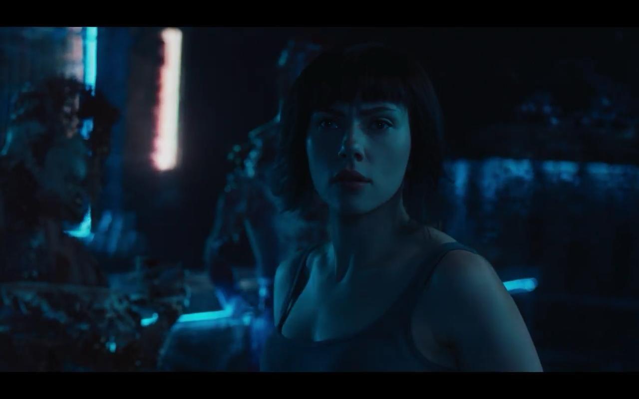 Scarlett Johansson In Ghost In The Shell 2017 Ghost In The Shell Ghost Tv Spot