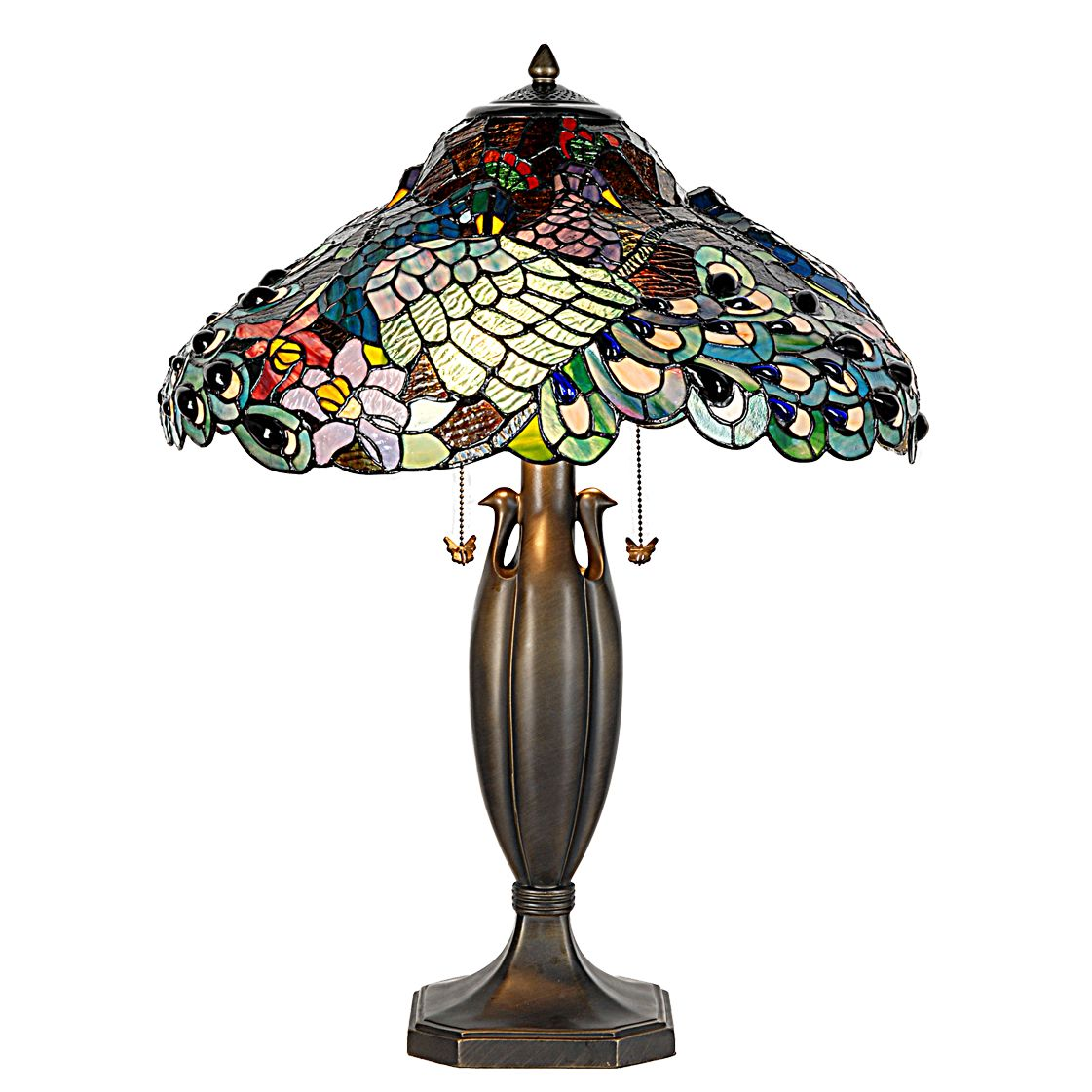 Peacock Table Lamp | American Home | Albuquerque, Santa Fe, Farmington - NM