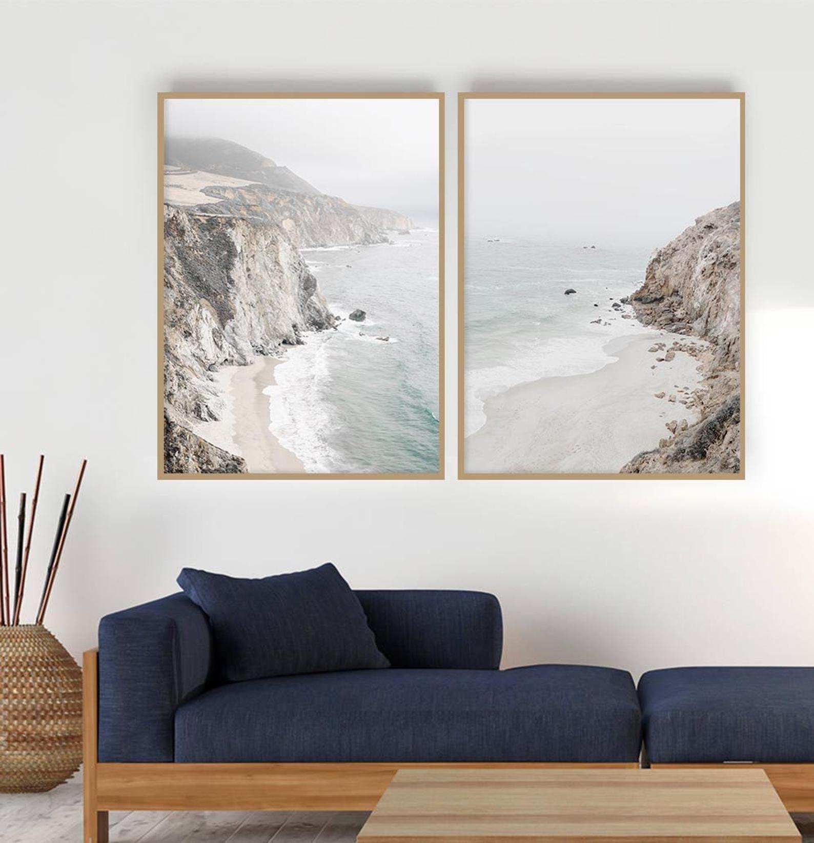 Decorative Coastal Wall Art Sets Coastal Wall Art Beach Wall