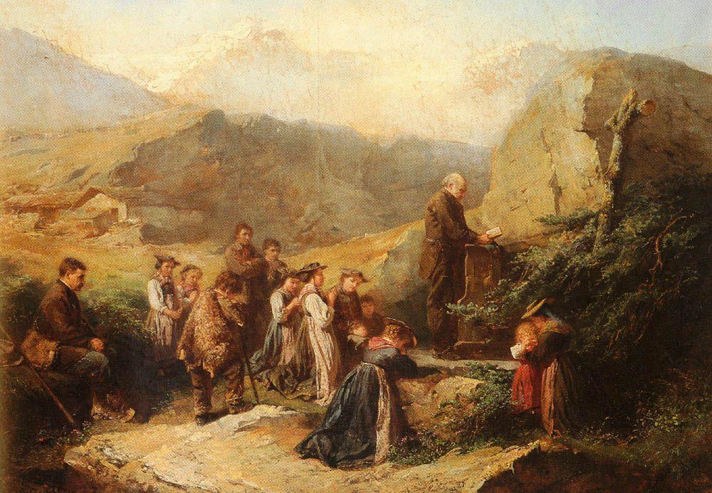 Rafael Ritz, Prayer in the Alps