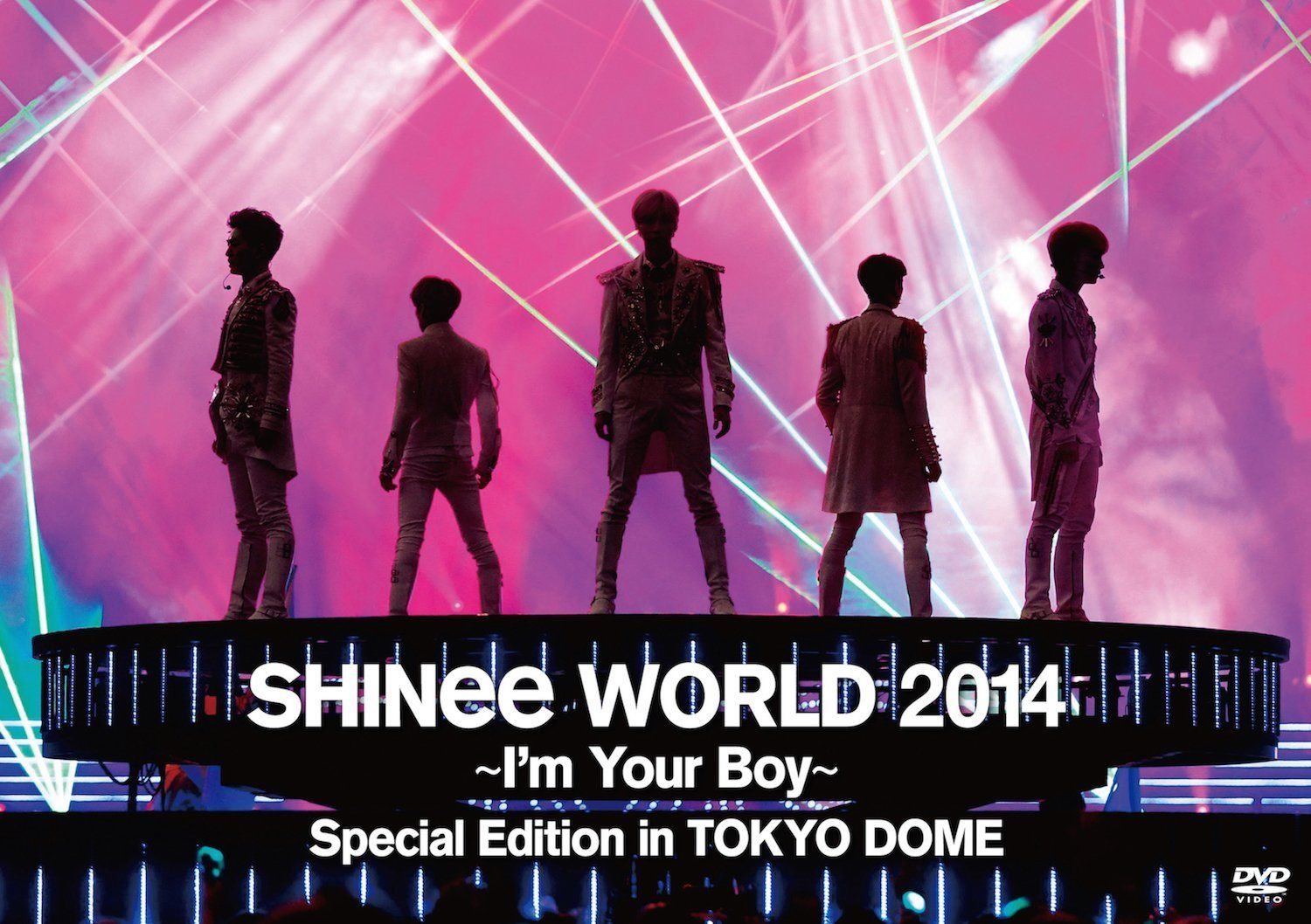 Video Download][DVD] SHINee World 2014 ~ I'm Your Boy ~ Special