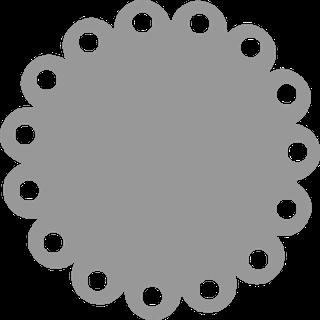 Click N Fill Templates Cricut Crafts Simple Scrapbook Circle Template