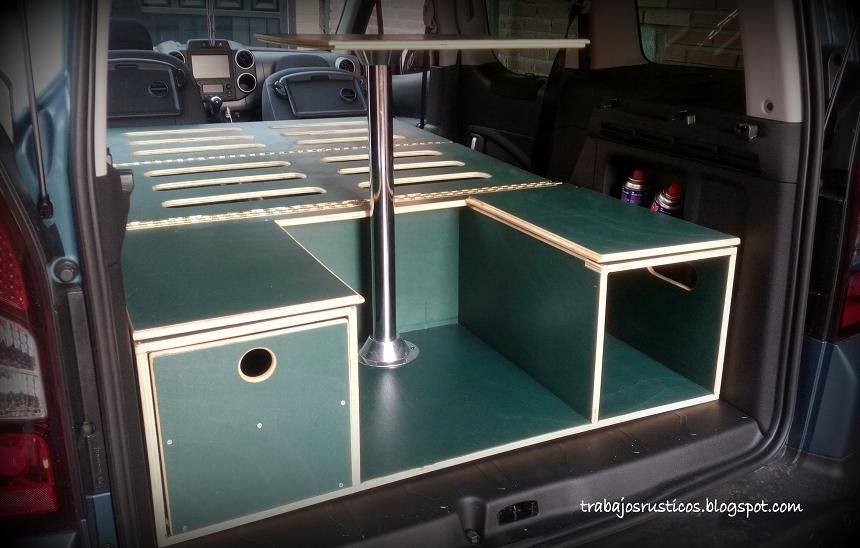 Artesan a madera muebles de madera r sticos - Muebles para furgonetas camper ...