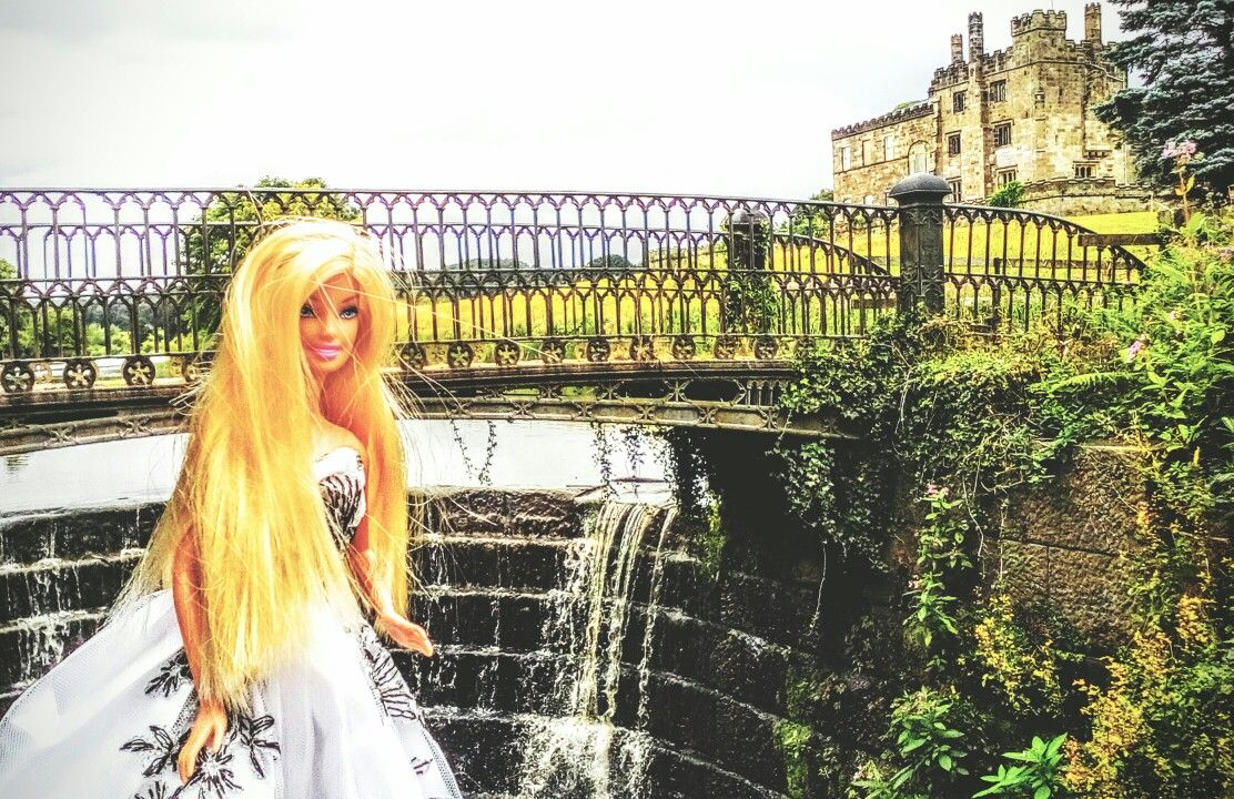 Barbie at Ripley castle July 2016. Our 10th wedding anniversary. Photo by Sally Heather Elizabeth Taylor.