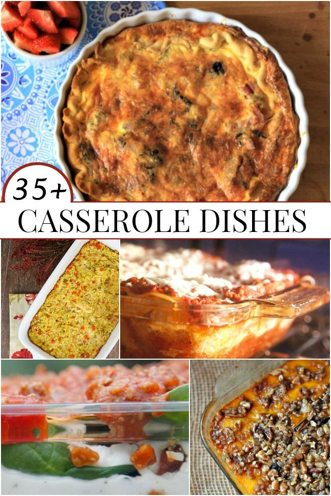Huge selection of casserole dishes you can share with family, friends, and anyone who needs a meal!