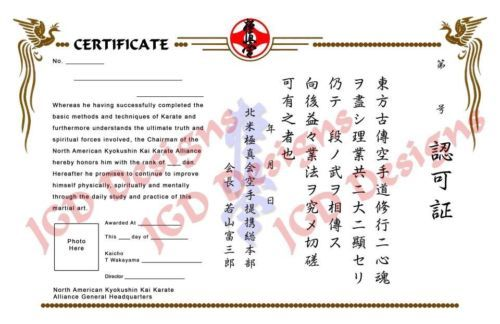 Belts and sashes 73981 martial arts karate kyokushin style belts and sashes 73981 martial arts karate kyokushin style certificate template buy it yelopaper Choice Image
